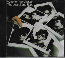LOU REED - Walk On The Wild Side - Best Of VG COND CD David Bowie/Mick Ronson
