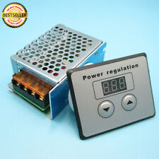 4000W 220V SCR Voltage Dimmer Electric Motor Speed Controller +Power Regulator