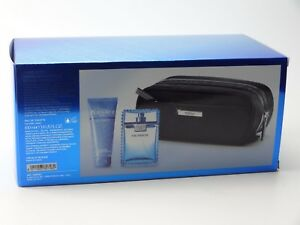 VERSACE MAN EAU FRAICHE GIFT SET WITH 100ML EDT & 100ML SHOWER GEL & BAG
