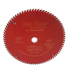 10inch x 80 Teeth Table Saw Blades for Wood Carbide Tipped