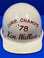Vintage 1978 Skullgard Hard Hat Fiberglass Helmet Republic Steel Blooming Mill