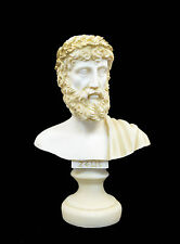 Zeus god Alabaster sculpture statue bust king leader ancient Greek