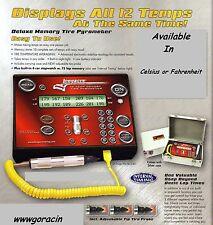 Longacre Racing Deluxe Memory Tire Pyrometer- Memory Stopwatch,Hoosier/50690 -