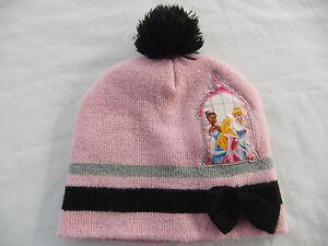 Disney Princess Pink Knit Beanie Hat  Toddler Girls    Free Ship