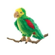 Amazon Parrot Puppet, Workable Mouth & Wings, Folkmanis MPN 2592, 3 & Up, Unisex