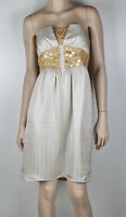 SEDUCE Strapless Sequin Cocktail Dress Sz 10 -  Buy 5 Items = FREE POST #1167