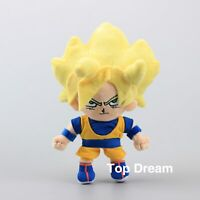Dragon Ball Z Super Saiyan Son Goku Plush Doll Stuffed Toy 8'' Figure Cool Gift