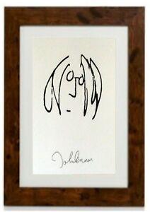 John Lennon Self Portrait Framed Print