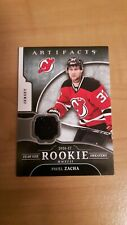New listing 2017-18 Artifacts Year one Rookie sweaters RS-PZ Pavel Zacha New Jersey