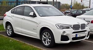 BMW X4 2014-2018 F26 1ST GEN SUV Slimline Window Visors/Weathershields (4PCS)