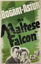 THE MALTESE FALCON Movie POSTER 27x40 K Humphrey Bogart Mary Astor Peter Lorre