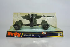 DINKY TOYS 656 DIE CAST GERMAN WW II 88mm GUN