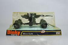 DINKY TOYS 656 DIE CAST GERMAN WW II 88mm GUN