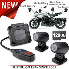 Mio MiVue M760D 128GB Dual GPS Dash Cam│Motorbike Front & Rear Camera│1080p│WiFi