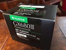 New Rare Fujifilm EBC Fujinon 180mm f3.2 GX MD Lens Fuji GX680 w/Case GX680iii