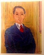 Portrait of M. Rico Mazaraki  (MINI PRINT) By Raoul Dufy