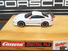 Carrera Digital 143 Porsche Carrera GT3 RSR Tuning Motor Reifen Magnet LED Licht