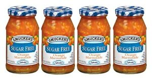 Smucker's Sugar Free Orange Marmalade 4 Pack