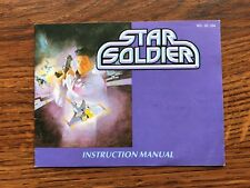 Star Soldier NES Nintendo Instruction Manual Only