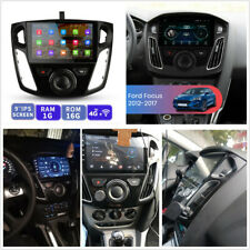 9'' HD 1+16GB Stereo Multimedia Player GPS BT WiFi w/Canbus For 12-17 Ford Focus