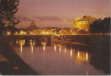 ROMA - CASTEL S. ANGELO E S. PIETRO DI NOTTE - V 1984 - FG