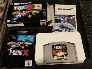 F-ZERO X NINTENDO 64 BOXED COMPLETE WITH INSTRUCTIONS N64 CIAB RARE FZERO F ZERO
