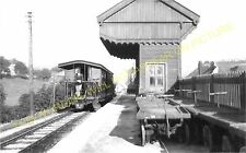Waterhouses Railway Station Photo. North Staffs & Leek & Manifold Railways. (12)