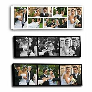 Your Photo Collage Canvas Print- Personalised 30x10, 24x10 inch on Box/Wrapped