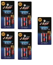 5 Packs J Ray R327 Lithum Battery 3V Fishing Sea LED  Light Weight Replace