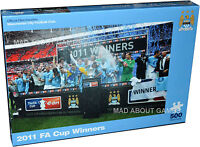 Official MANCHESTER CITY FC 2011 Puzzle 500pcs Jigsaw gift football mens boys