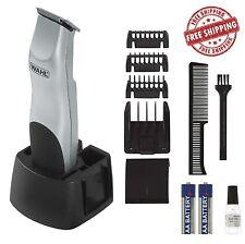 Wahl Beard Trimmer Mustache Clipper Shaver Cordless Battery Hair Razor Men Kit