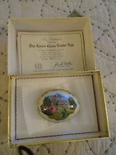 Lenox Annual Easter Egg Box 1986 Collectible Egg A+ Condition (7)