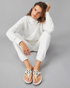 Tory Burch Miller Cloud Sandals in New Ivory Size 7