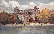 B27125 Torino Castello del valentino e fiume italy