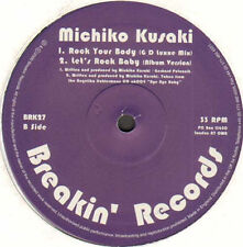 MICHIKO KUSAKI - Let's Rock Baby - 2000 Breakin' Records Uk - BRK27