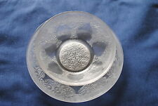 Rene Lalique Vases Design 1920's Plate and Bowl