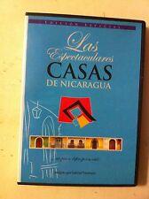 dvd las espectaculares casas de nicaragua  por gabriel traversari