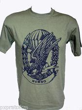 T-shirt Maglietta Militare 183 Rgt. Paracadutisti Folgore NEMBO Verde Esercito F