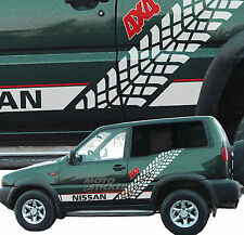 Stickers off-road 4x4 - NISSAN TERRANO - Stickers Kit SIDES Racing