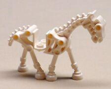 Lego White Skeleton Horse Minifigure