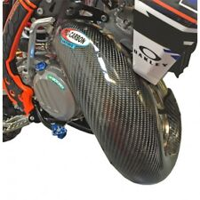 KTM SX125 150 2019  PRO CARBON EXHAUST GUARD FOR STANDARD PIPE