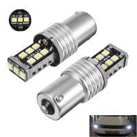 2x LAMPADE DRL LUCI DIURNE RETROMARCIA 1156 P21W BA15S LED 6000K NO ERROR CAMBUS
