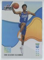2018-19 Panini Status Shai Gilgeous-Alexander Rookie RC #156 Clippers READ