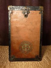 Antique Medical First Aid Kid MINE SAFETY APPLIANCES CO. PITTSBURGH PA Metal Box