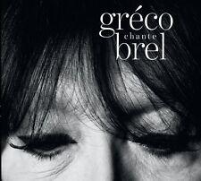 Juliette Gréco, Juliette Greco - Greco Chante Brel [New CD]