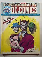 Amazing World of DC Comics #6 1975 Preview of Power Girl Berni Wrightson