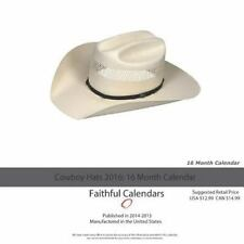 Cowboy Hats Calendar 2016: 16 Month Calendar by Jack Smith (2015, Paperback)