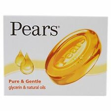 2 X Pears soap Pure & Gentle glycerin & natural oils younger looking skin 75 gm