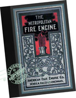 American Metropolitan Fire Engine Co 1902 Steam Power Fire Pump Boiler Wagons