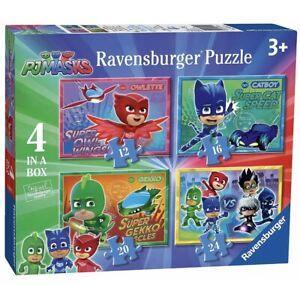 PJ MASKS JIGSAW PUZZLES 4 IN A BOX RAVENSBURGER